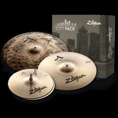 """Zildjian Pack A City 12""""-14""""-18"""" - Vue 1"""