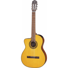 Takamine GC1CELH-NAT natural gaucher - Vue 1