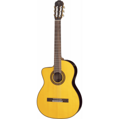Takamine GC5CELH-NAT Ambre naturel satiné - Vue 1
