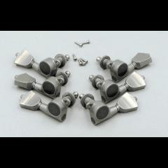 Lutherie GOTOH SG381-04B-XN X-nickel, bouton tulipe métal X-nickel - Vue 1