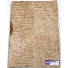 Lutherie Erable - 4A quilted maple 530x190x30x2 - Vue 1