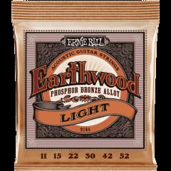 Ernie Ball Earthwood phosphore bronze light 11-52 - Vue 1