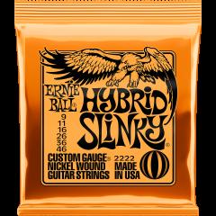 Ernie Ball Hybrid slinky 9-46 - Vue 1
