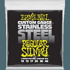 Ernie Ball Slinky stainless steel 10-46 - Vue 1