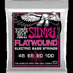 Ernie Ball Slinky flatwound 45-100 - Vue 1