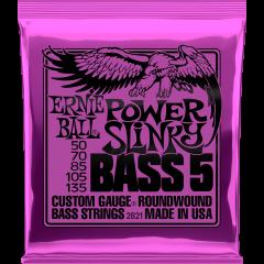 Ernie Ball Power slinky 5 cordes 50-135 - Vue 1