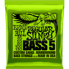 Ernie Ball Regular slinky 5 cordes 45-130 - Vue 1