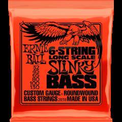 Ernie Ball Slinky long scale 6 cordes 32-130 - Vue 1