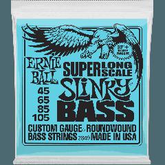 Ernie Ball Slinky nickel wound slinky super long scale 45-105 - Vue 1