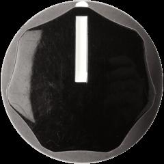 Dunlop ECB071 Bouton Rotatif Moyen Noir - Vue 1