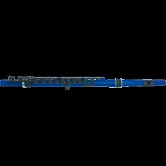 Nuvo Flûte traversière ABS bleu métallique et noire - Vue 1