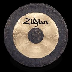 """Zildjian Gong 30"""" hand hammered - Vue 1"""