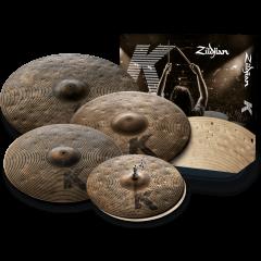 "Zildjian Pack K Custom Dry 14""-16""-18""-21"" - Vue 1"