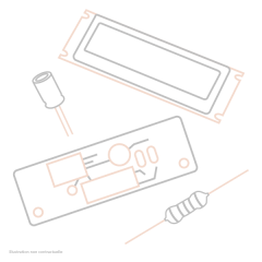 Shure Shure Câble nappe 24 points UR4D - Vue 1