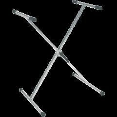 Rtx Stand clavier X à rotule crantée - titane - Vue 1
