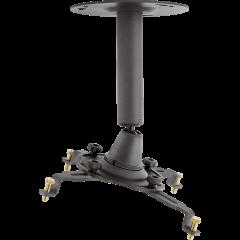 Euromet Fixation plafond anthracite - Vue 1