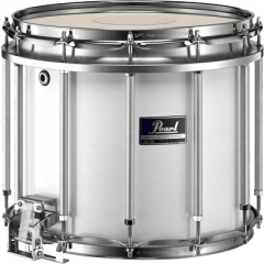 "Pearl Fanfare Competitor free floating 13"" x 11"" pure white - Vue 1"