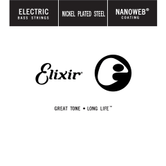 Elixir Filé 130 Light Nanoweb Nickel Bass - Vue 1