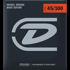 Dunlop DBN45100 filé rond nickel medium light - Vue 1