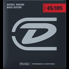 Dunlop DBN45105 filé rond nickel medium - Vue 1