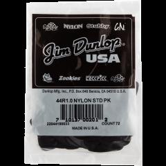 Dunlop Nylon 1,00mm sachet de 72 - Vue 1
