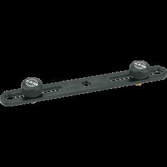 K&M 23550 Barrette de couplage pour micros - Vue 1
