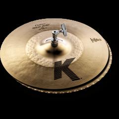 "Zildjian K Custom 14"" hybrid hi-hat - Vue 1"