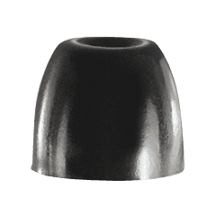 Shure 10 Embouts noirs en mousse pour intra-auriculaires, taille M - Vue 1