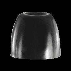 Shure 10 Embouts noirs en mousse pour intra-auriculaires, taille S - Vue 1