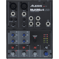 Alesis MultiMix 4 Usb - Vue 1
