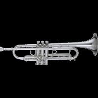 Getzen Trompette Sib professionnelle plaquée argent 900S - Vue 1