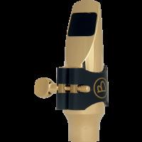 Brancher Bec métal plaqué or saxo soprano - Jazz ouverture 17 - Vue 1