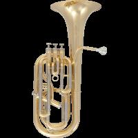 Sml Paris Saxhorn baryton 3+1 pistons verni - Stock B - Vue 1