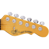 G&L Tribute ASAT Classic Bluesboy Semi Hollow Clear Orange - Vue 5
