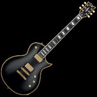 ESP E-II Eclipse EC-II vintage black - Vue 2