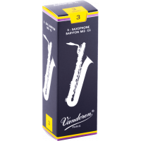 Vandoren Anches saxophone baryton Traditionnelles force 3 - Vue 1