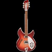 Rickenbacker 330 12-cordes fire glow - Vue 1