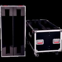 Gator G-TOURLCDV2-5055-X2 bois avec roulettes deux écrans 50