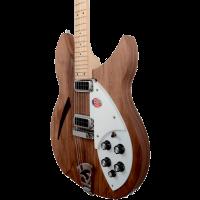 Rickenbacker 330 walnut - Vue 3