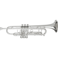 Getzen Trompette Sib professionnelle plaquée argent 3050S - Vue 1