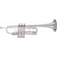 Getzen Trompette Ut professionnelle plaquée argent 3070S - Vue 1