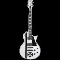 ESP Signature James Hetfield Ironcross snow white - Vue 1