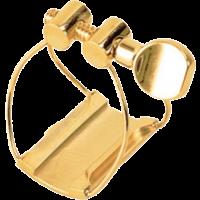 Brancher Ligature fil plaquée or saxo ténor - bec ébonite - Vue 1