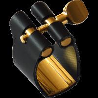 Brancher Ligature semi-rigide saxophone alto - bec métal - Vue 1