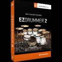 Toontrack EZdrummer 2 - boite logiciel - Vue 1