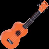 Mahalo Rainbow soprano orange + housse - Vue 2