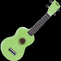 MAHALO Rainbow soprano green + housse - Vue 2