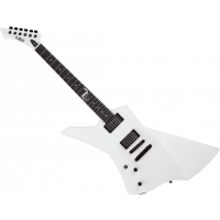 Ltd James Hetfield Snakebyte white gaucher - Vue 2