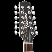 Takamine EF381SC black 12-cordes - Vue 4