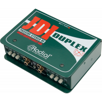 Radial DI passive 2 canaux JDI DUPLEX - Vue 1